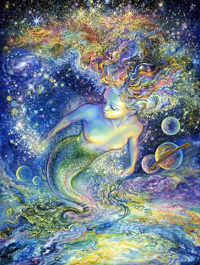 (c.)Josephine Wall, Space Maid